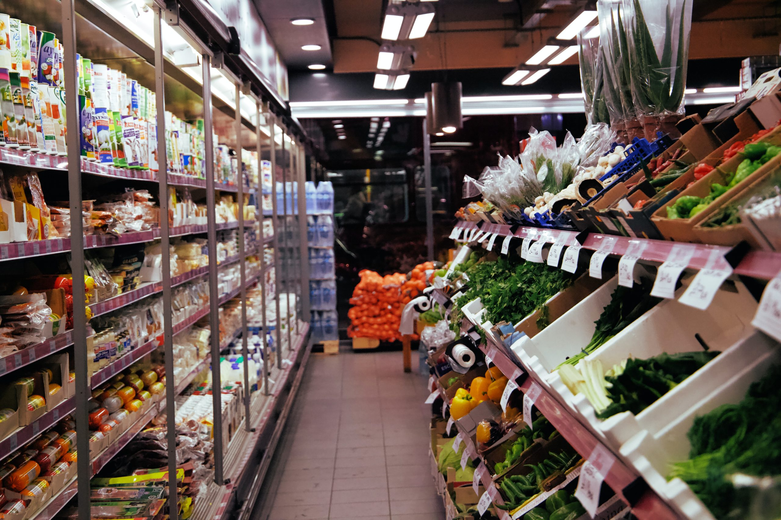 produce and groceries